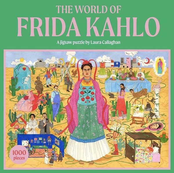 Bilde av The world of Frida Kahlo,