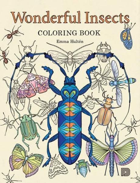 Bilde av Wonderful Insects Colouring