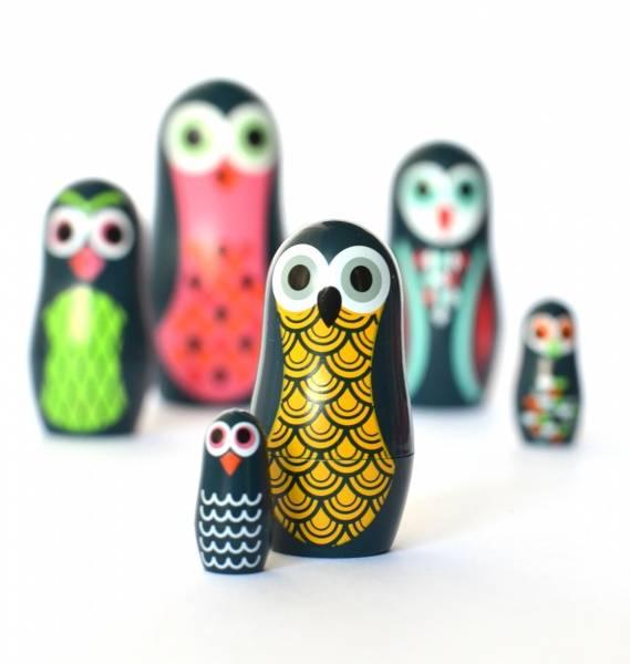 Bilde av Matrjosjka: Uglene