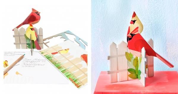 Bilde av Pop-out-card KARDINAL
